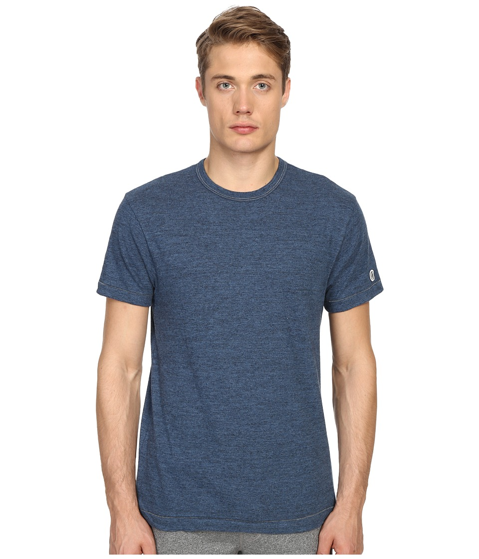 Todd Snyder Champion Heathered Basic Tee Indigo Mix Mens T Shirt