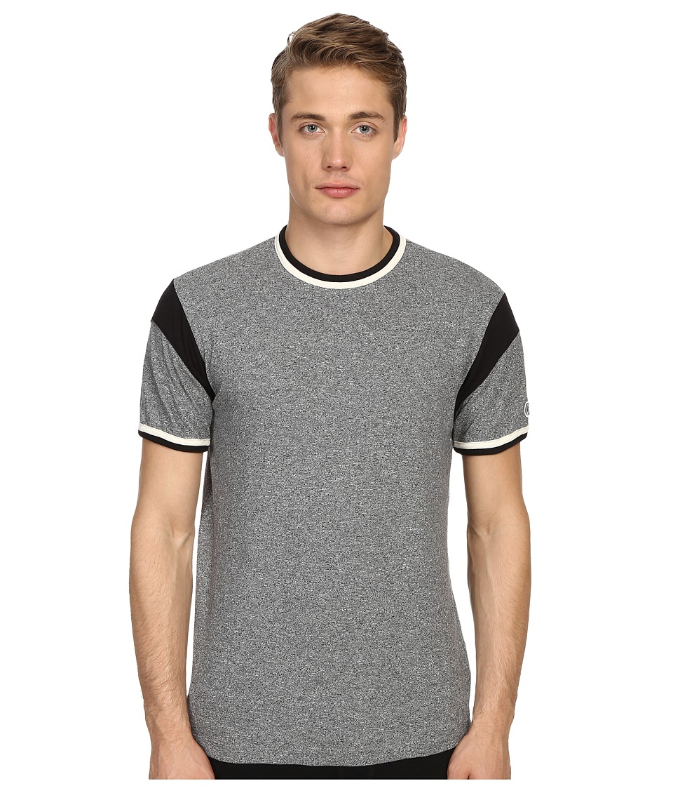 Todd Snyder Champion Short Sleeve Armhole Tee Salt/Pepper Mens T Shirt