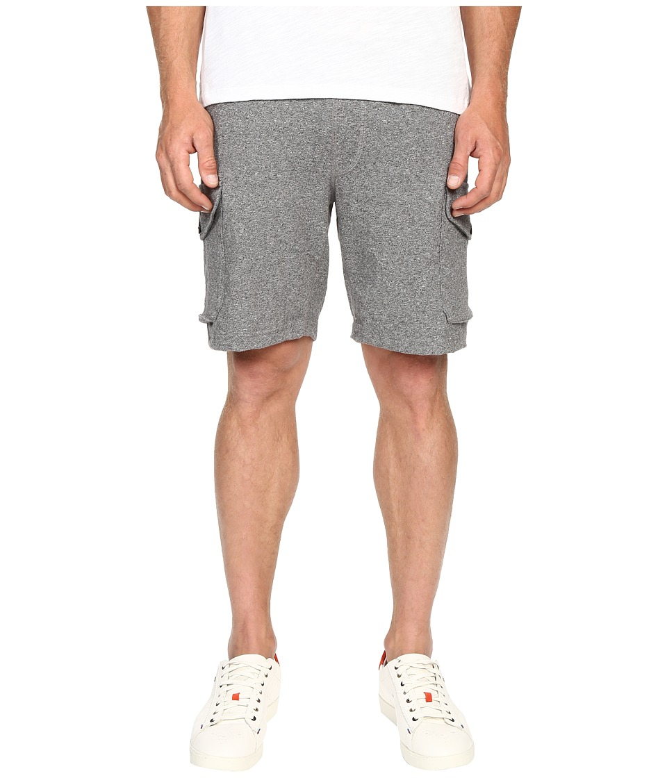 Todd Snyder Champion Cargo Sweatshorts Black Mix Mens Shorts