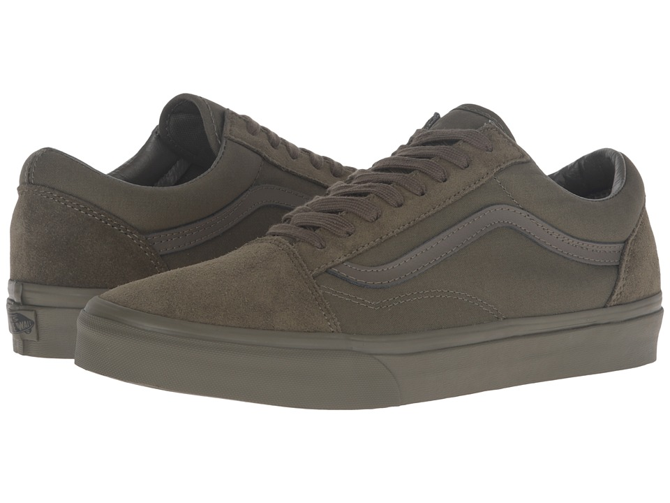Vans Old Skool ((Mono) Ivy Green) Skate Shoes