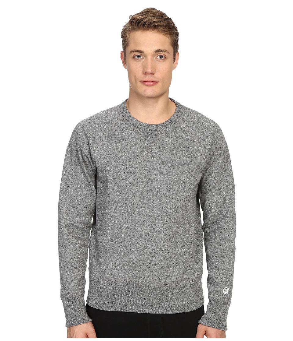 Todd Snyder Champion Pocket Sweatshirt Salt/Pepper Mens Sweatshirt