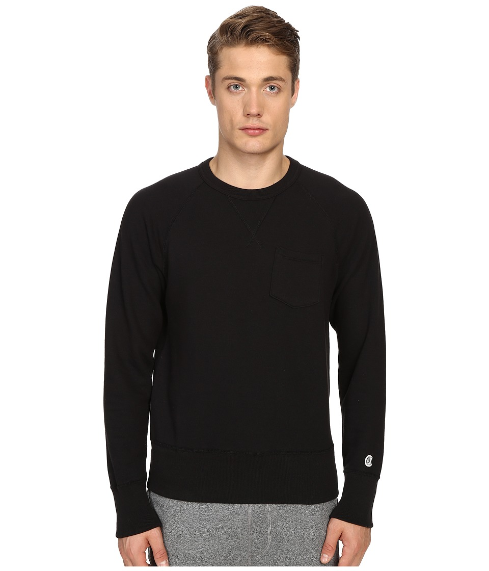 Todd Snyder Champion Pocket Sweatshirt Black Mens Sweatshirt