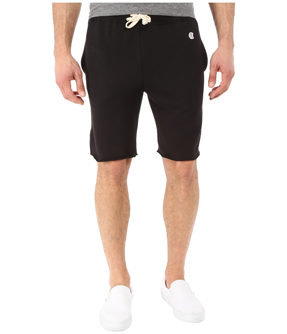 Todd Snyder Champion Cut Off Sweatshorts Black Mens Shorts