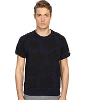 Todd Snyder + Champion - Floral Print Short Sleeve Sweatshirt