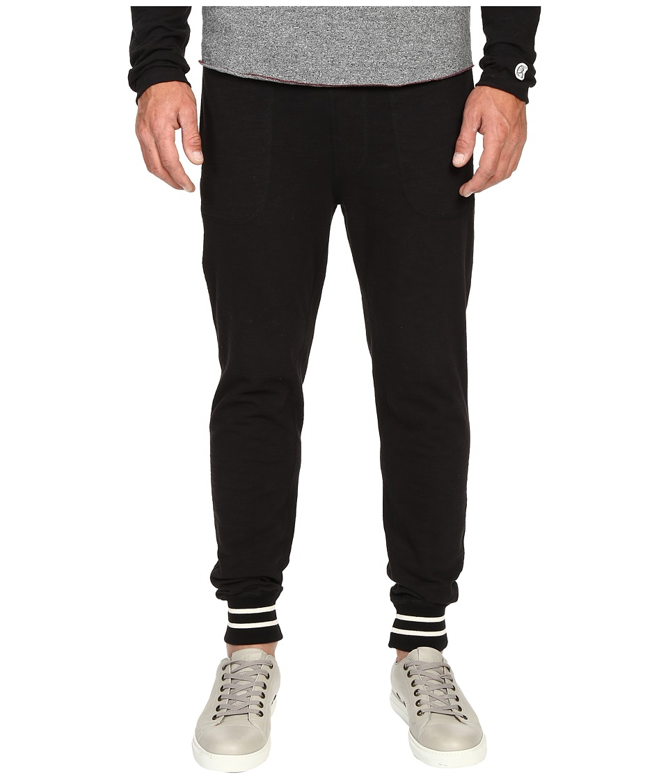 Todd Snyder Champion Tipped Jersey Pants Black Mens Casual Pants