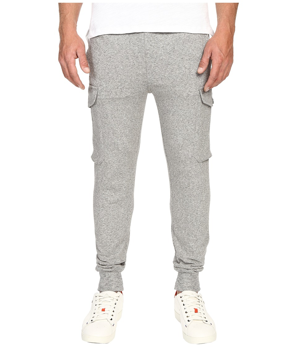 Todd Snyder Champion Slim Cargo Sweatpants Grey Heather Mens Casual Pants