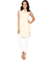 B Collection by Bobeau - Tunic w/ Embroidered Detail
