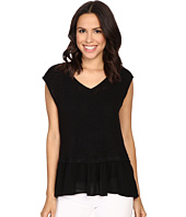 Bobeau - Kati Knit To Woven Layer Top