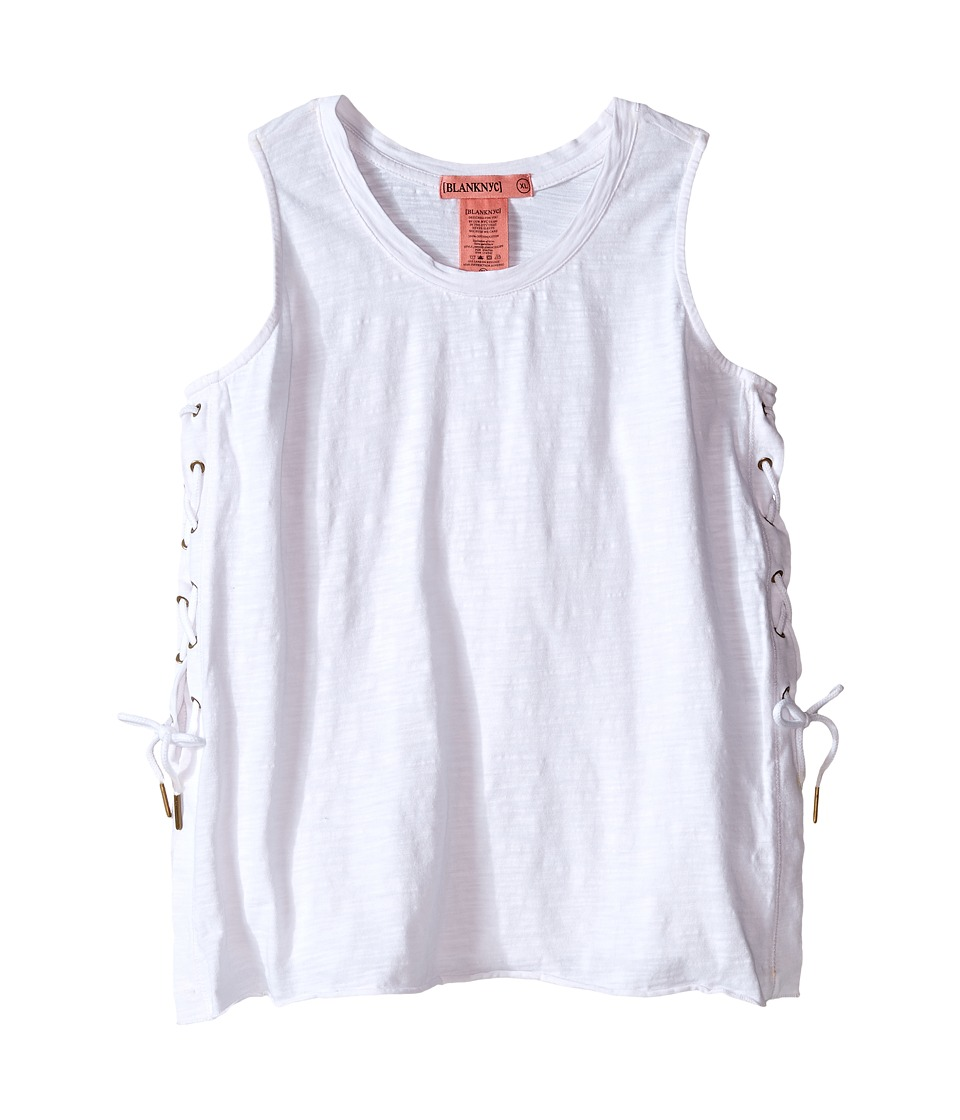 Blank NYC Kids - Sleeveless Lace-Up Tank Top