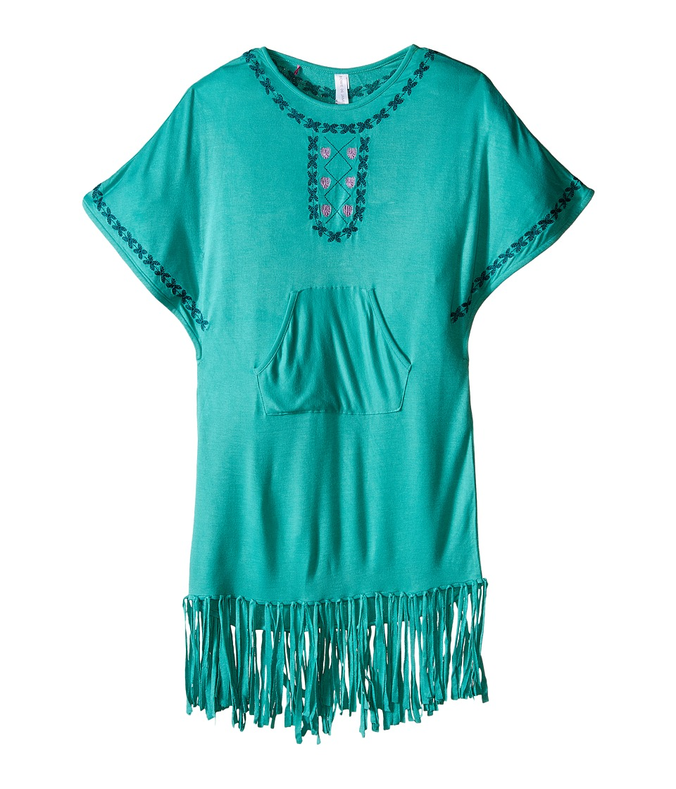 Bowie X James Gypset Poncho Top Toddler/Little Kids/Big Kids Seafoam Girls Clothing