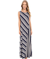Bobeau - Mansi Color Block Stripe Maxi Dress