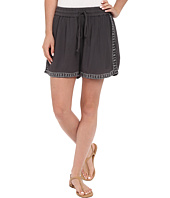 Bobeau - Rosie Embroidered Shorts