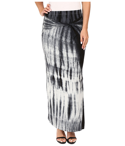 B Collection by Bobeau Claudia Front Slit Midi Knit Skirt
