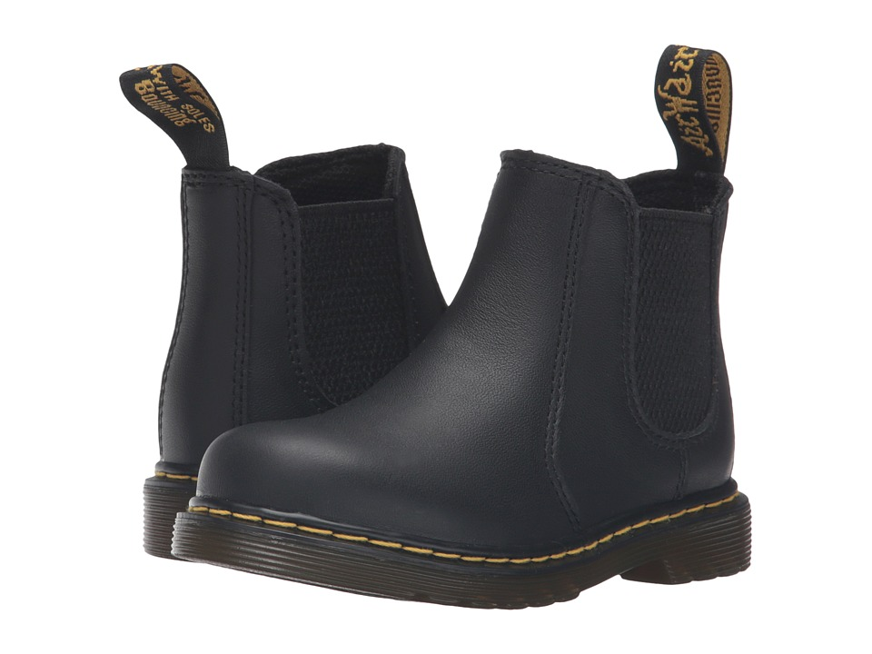 Dr. Martens Kids Collection - 2976 Toddler Shenzi Chelsea Boot (Toddler) (Black) Kids Shoes