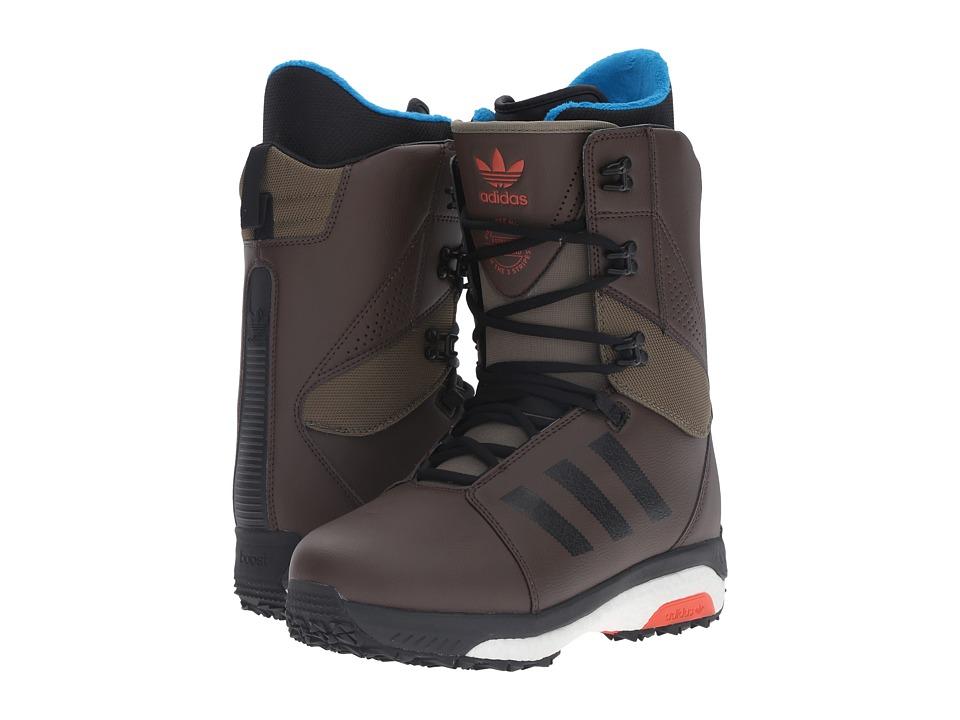 adidas Skateboarding Tactical Boost (Brown/Olive/Cargo) Men