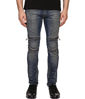 Just Cavalli - Vintage Dirty Black Moto Denim