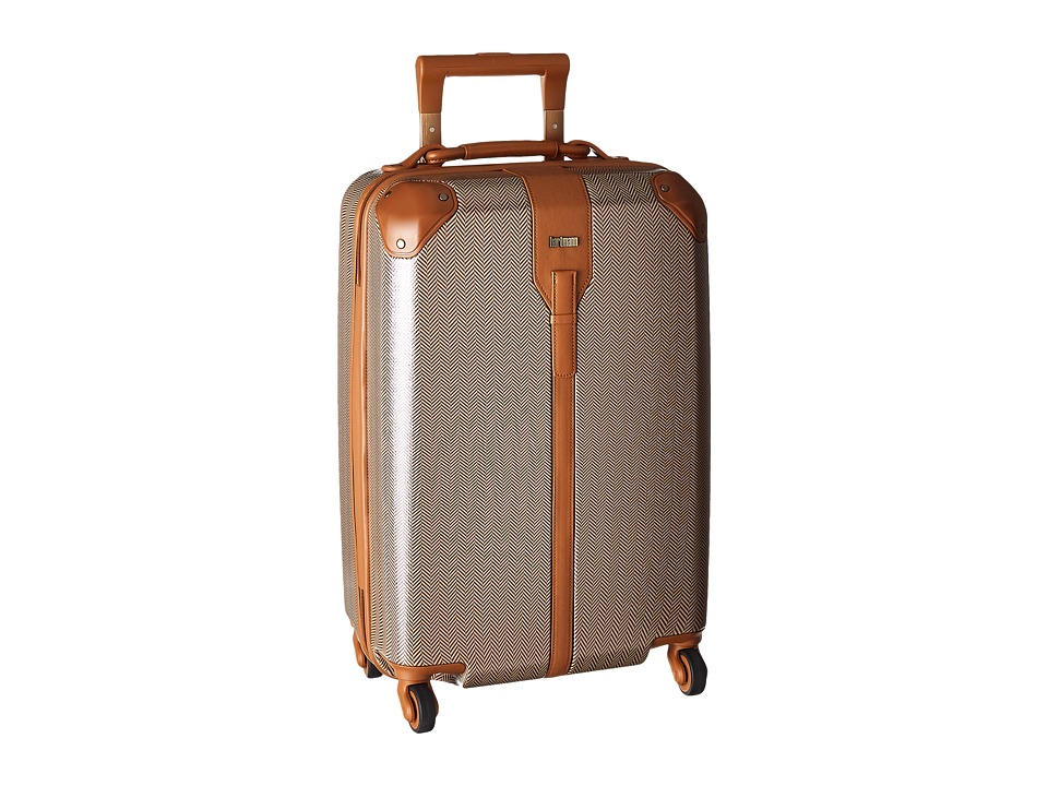 Hartmann - Herringbone Luxe Hardside - Carry-On Spinner (Terracotta Herringbone) Carry on Luggage