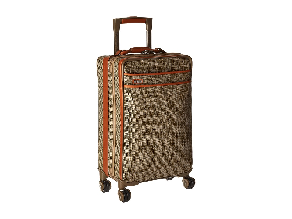Hartmann - Tweed Collection - Carry-On Expandable Spinner (Natural Tweed) Carry on Luggage
