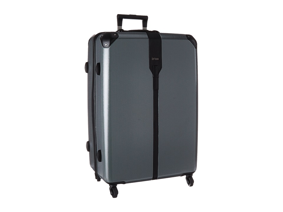 Hartmann Herringbone Luxe Hardside Extended Journey Spinner Black Herringbone Luggage
