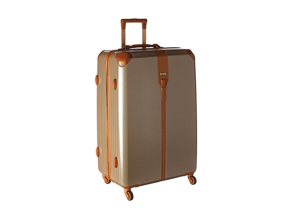 Hartmann Herringbone Luxe Hardside Extended Journey Spinner Terracotta Herringbone Luggage