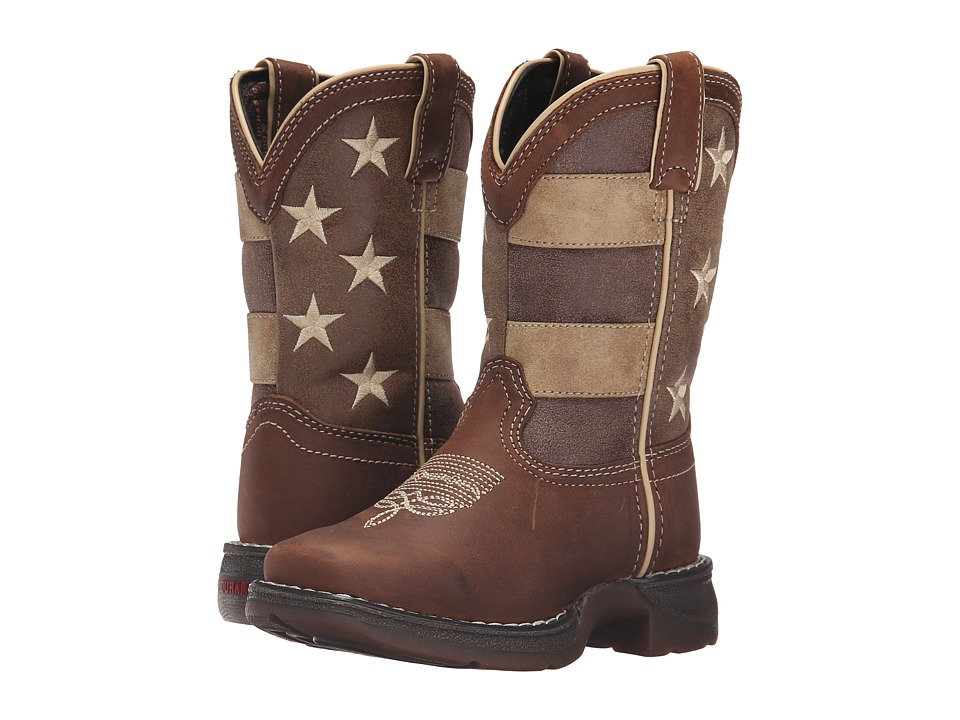 Durango Kids - 8 Faded Glory Lil' Rebel Square Toe