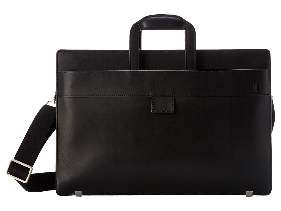 Hartmann - Heritage - Slim Brief (Black) Briefcase Bags