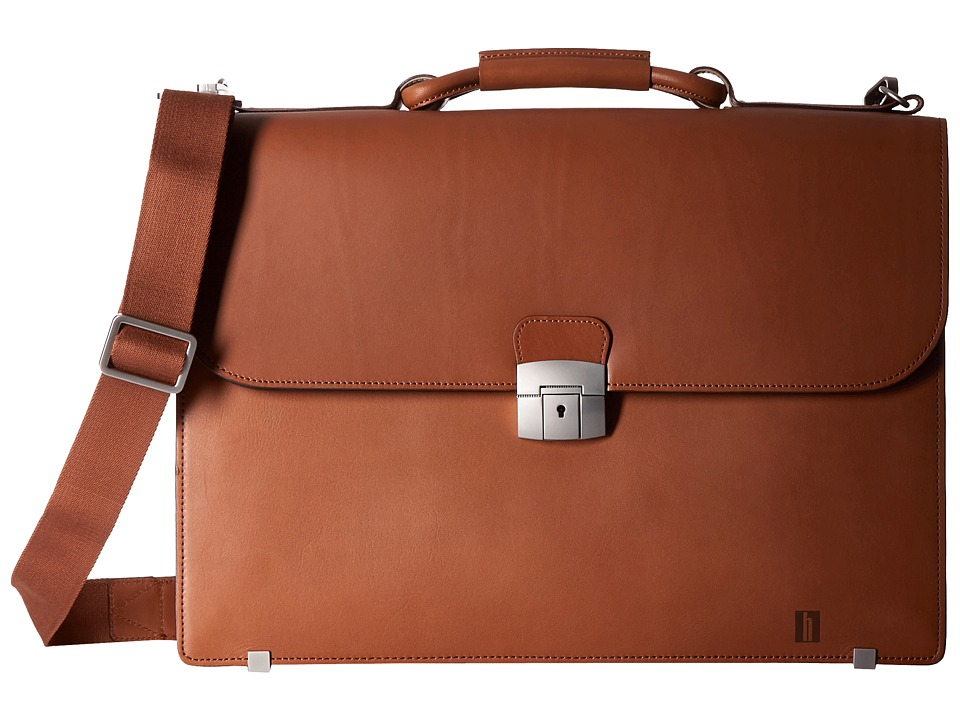 Hartmann - Heritage - Flap Brief (Golden Oak) Briefcase Bags
