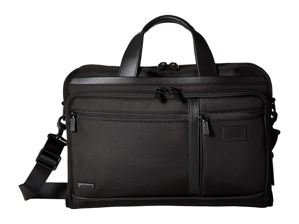 Hartmann - Hypertex - Slim Brief (Black) Briefcase Bags