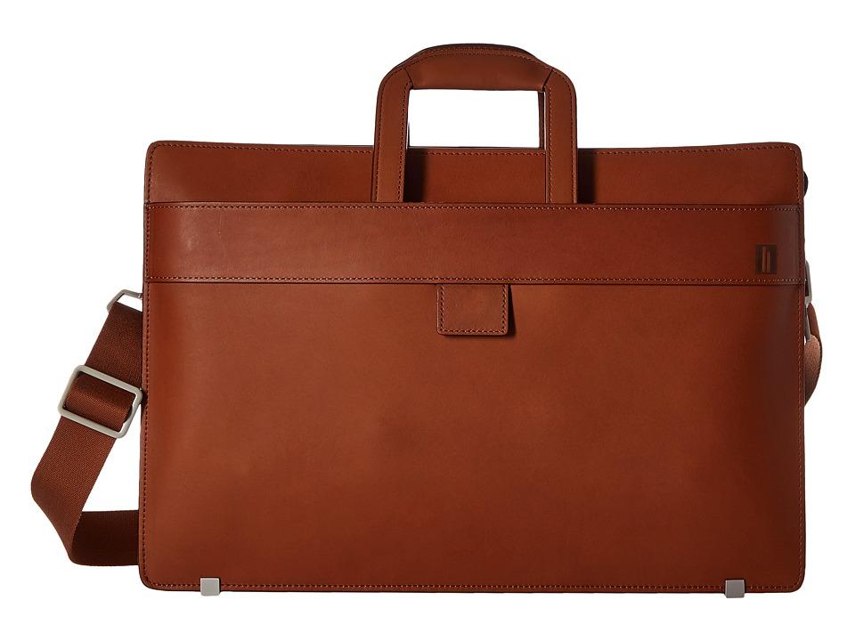 Hartmann Heritage Slim Brief Golden Oak Briefcase Bags