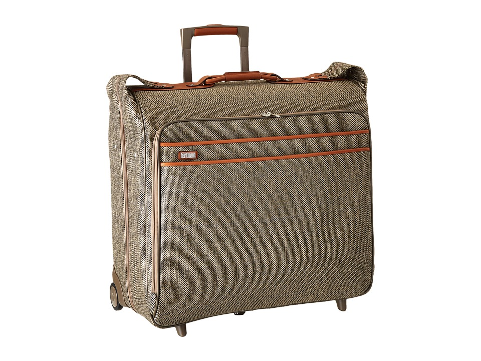 Hartmann - Tweed Collection - Large Wheeled Garment Bag (Natural Tweed) Luggage