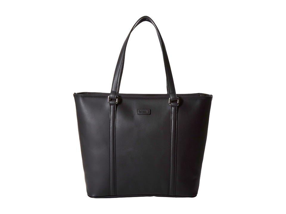 Hartmann - Heritage - Zippered Tote (Black) Tote Handbags