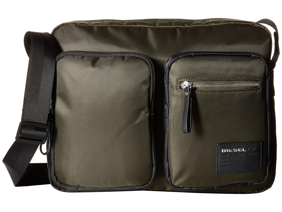 Diesel - Beat The Box Phasers - Crossbody Bag (Forest Night/Black) Messenger Bags