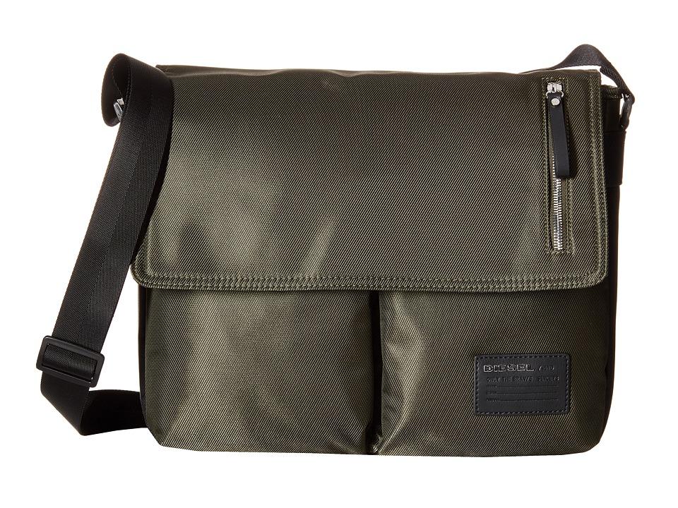 Diesel Beat The Box Chorus Crossbody Bag Forest Night/Black Cross Body Handbags