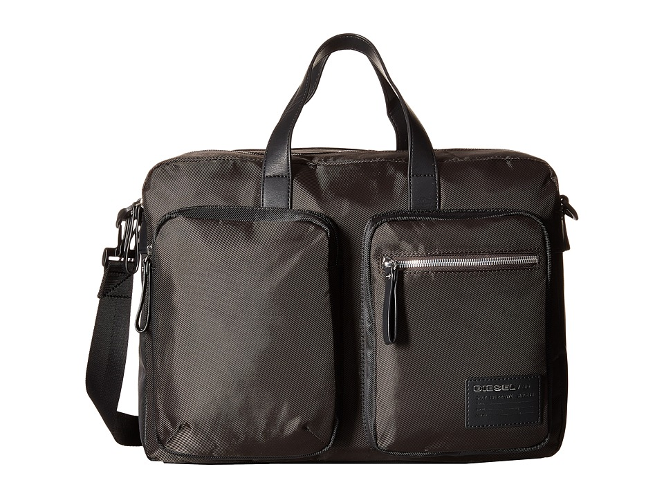 Diesel - Beat The Box Crash - Briefcase (Coffee Bean/Black) Briefcase Bags