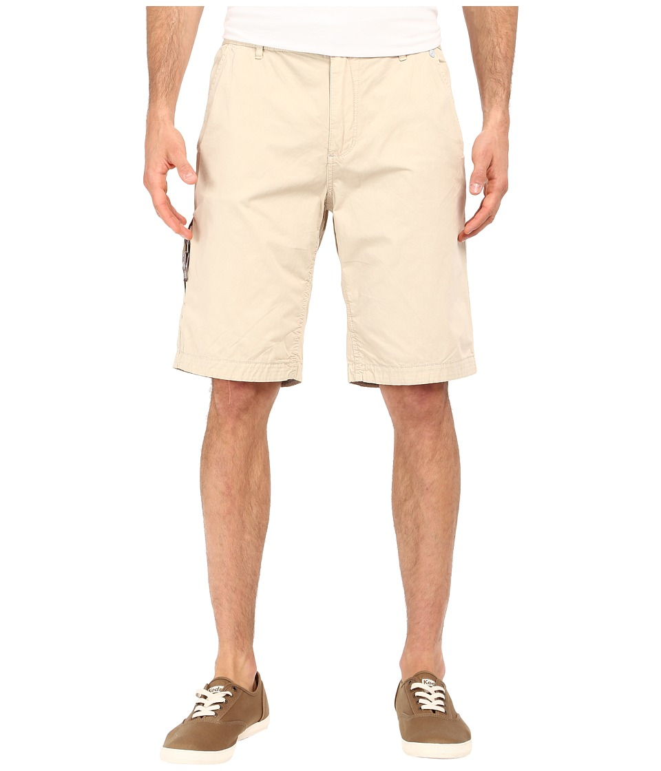 Buffalo David Bitton Hirculean Solid Twill Shorts Sable Mens Shorts