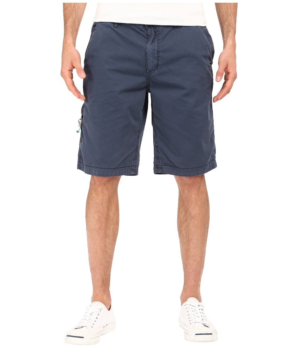 Buffalo David Bitton Hirculean Solid Twill Shorts Whale Mens Shorts