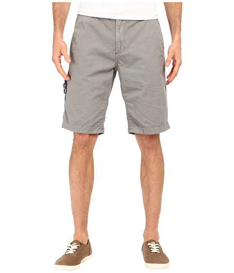 Buffalo David Bitton Hirculean Solid Twill Shorts - Ardent