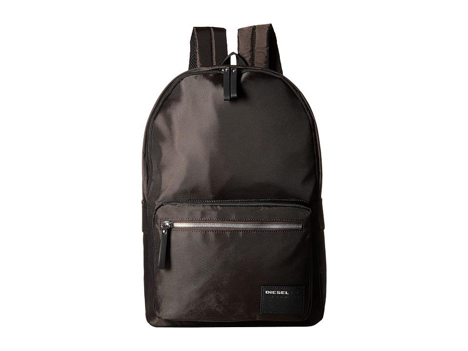 Diesel Beat The Box Drum Roll Backpack Coffee Bean/Black Backpack Bags