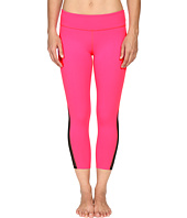Beyond Yoga - Side Mesh Triangle Capris