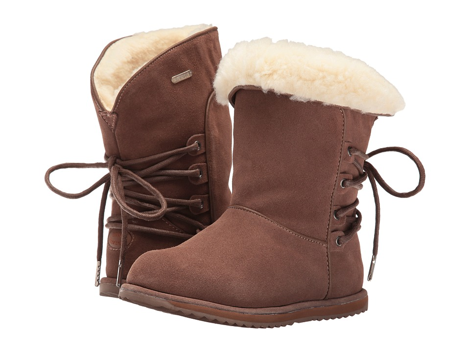 EMU Australia Kids Islay (Toddler/Little Kid/Big Kid) (Oak) Girls Shoes