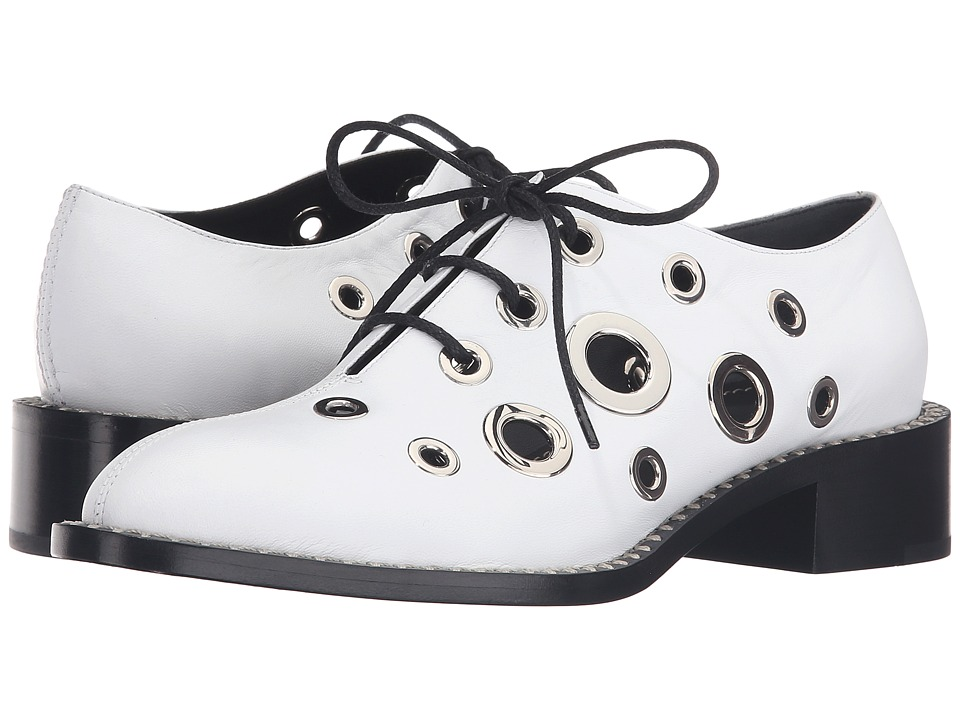 Proenza Schouler PS27053 (White) Women's Lace up casual S...