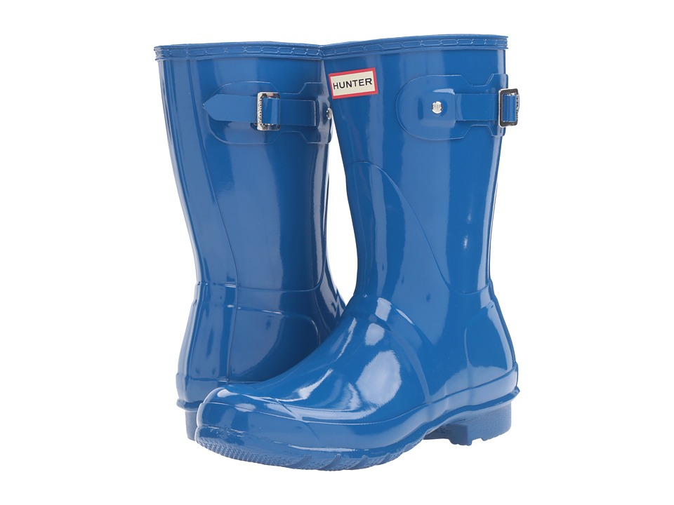 Hunter Original Short Gloss (Azure) Women's Rain Boots