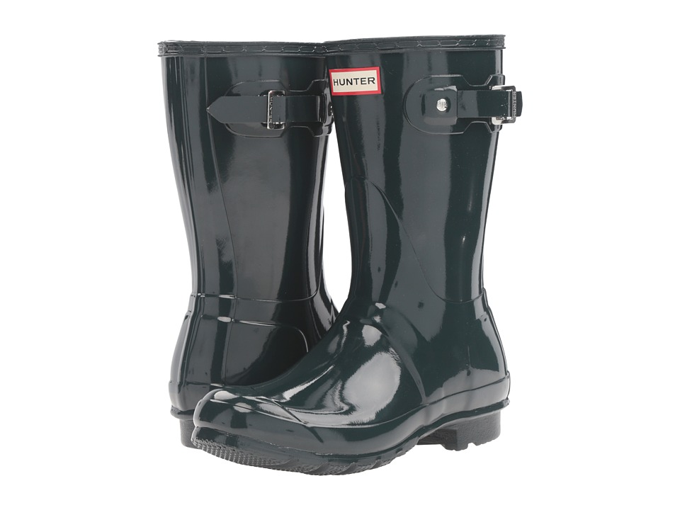 Hunter Original Short Gloss (Ocean) Women's Rain Boots