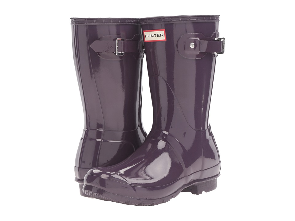 Hunter Original Short Gloss (Purple Urchin) Women's Rain Boots