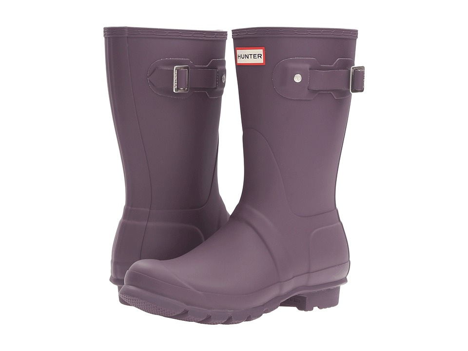 Hunter Original Short (Purple Urchin) Women's Rain Boots