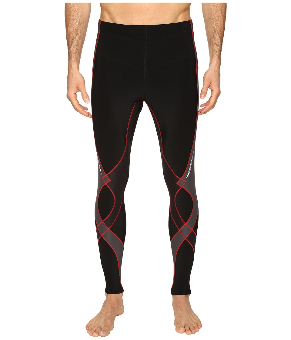 CW-X Insulator Stabilyx Tights (Black/Grey/Red) Men