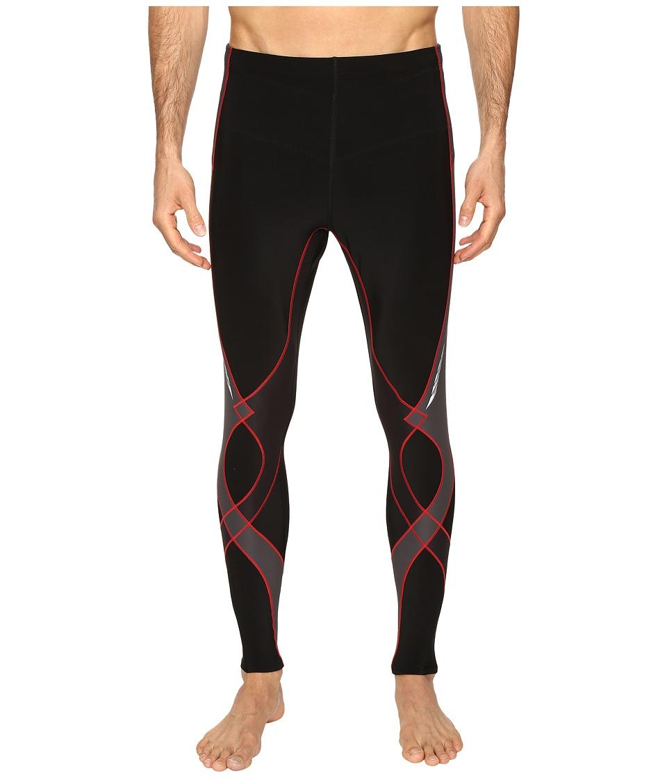 CW-X Insulator Stabilyx Tights (Black/Grey/Red) Men