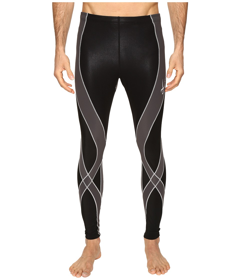 CW-X Insulator Endurance Pro Tights (Black/Grey/Silver) Men