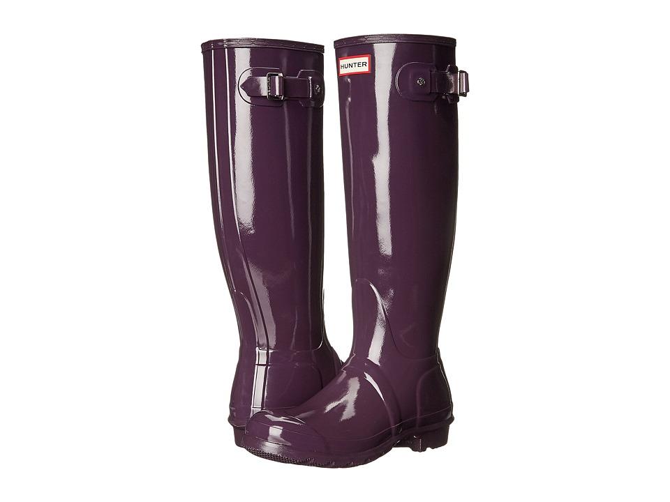 Hunter Original Tall Gloss (Purple Urchin) Women