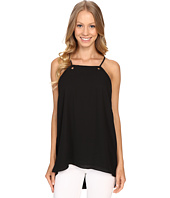 Vince Camuto - High-Low Hem Tank Top w/ Grommet Detail